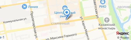 Детская музыкальная школа №1 им. С.М. Старикова на карте Тамбова