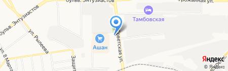Аптечный пункт Поликлиника взрослая на карте Тамбова