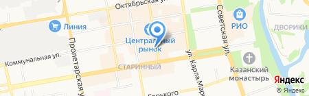 Пеппи длинный чулок на карте Тамбова
