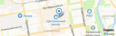 Быстроденьги на карте Тамбова