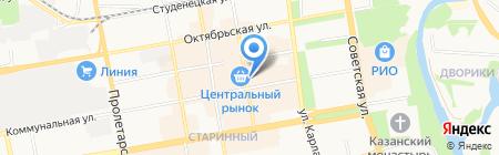 ПроСервис на карте Тамбова