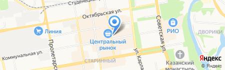 Тамбов ключ на карте Тамбова