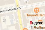 Схема проезда до компании УПТК Промстрой в Тамбове