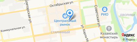 Деловая Русь на карте Тамбова