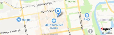 Благотворительный фонд им. И.П. Савинкова на карте Тамбова