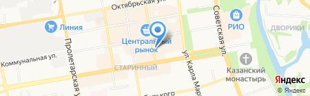 Окно.рф на карте Тамбова