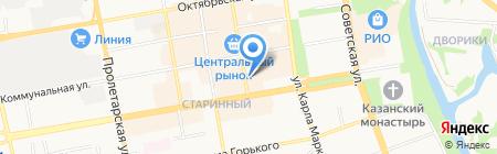 Партнер-Т на карте Тамбова