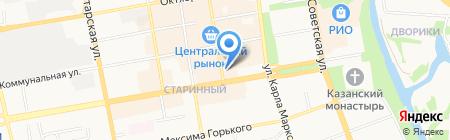 Тамбовтурист на карте Тамбова