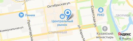 Квеструм на карте Тамбова