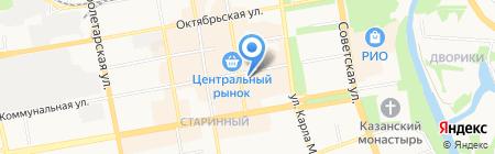 Силуэт-К на карте Тамбова