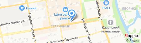 Белорусочка на карте Тамбова