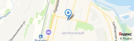 Администрация Цнинского сельского поселения на карте Строителя