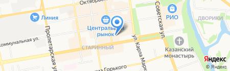 El на карте Тамбова