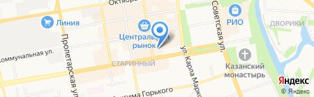 Комильфо на карте Тамбова