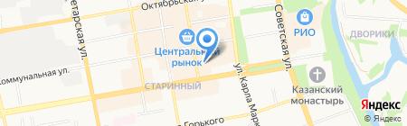 Имидж на карте Тамбова