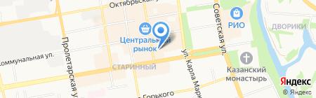 Грёзы на карте Тамбова