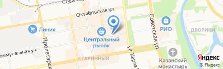 Ломбарды ЮС-585 на карте Тамбова