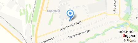 Ра на карте Бокино
