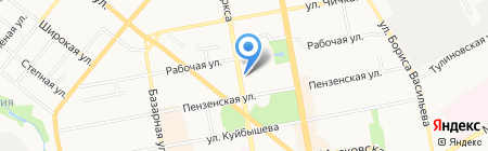 РосНОУ на карте Тамбова