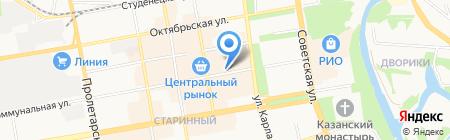 Мирра на карте Тамбова