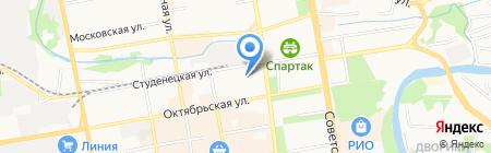 Коллегия адвокатов Тамбовской области на карте Тамбова