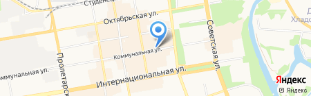 Магазин бижутерии на Коммунальной на карте Тамбова