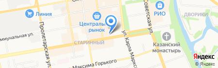 ЗАГС г. Тамбова на карте Тамбова