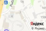 Схема проезда до компании Отделение полиции МВД России по Тамбовскому району в Строителе