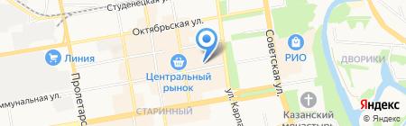 Fast Service на карте Тамбова