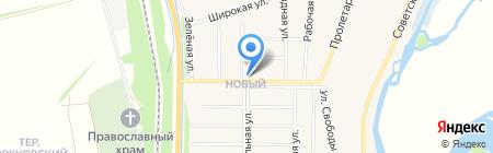 Магазин продовольственных товаров на карте Бокино