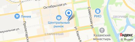 Территориальный фонд обязательного медицинского страхования Тамбовской области на карте Тамбова