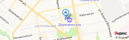 Анастасия на карте Тамбова