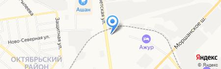Корсар на карте Тамбова