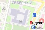 Схема проезда до компании Цнинская средняя общеобразовательная школа №1 в Строителе