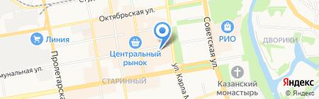 Incity на карте Тамбова