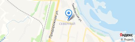 Бегемот на карте Бокино