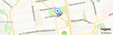 Fly на карте Тамбова