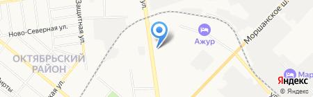 Магазин автозапчастей для Ford Mazda на карте Тамбова