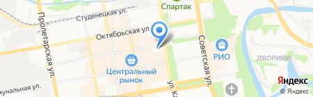 Нотариус Трофимова Н.П. на карте Тамбова