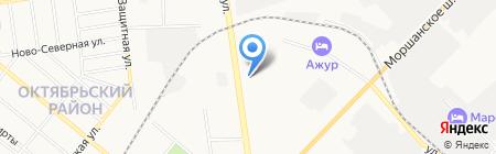 МАКС-Принт на карте Тамбова