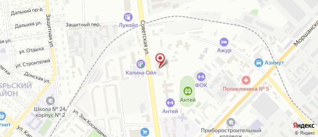 Карта расположения пункта доставки Lamoda/Pick-up в городе Тамбов