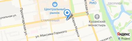 Apple Dj Cafe на карте Тамбова