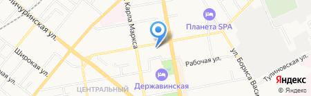 Графская кухня на карте Тамбова