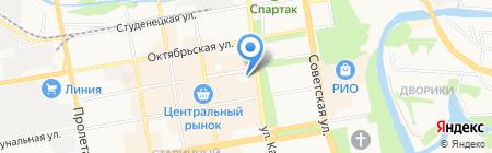Tupperware на карте Тамбова