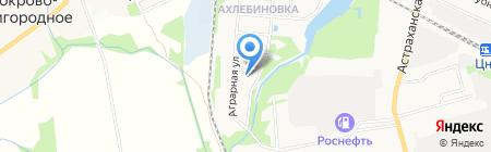 Кузовной ремонт в Ахлябиновой роще на карте Тамбова
