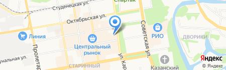 Везёт на карте Тамбова