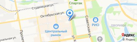 Содружество на карте Тамбова