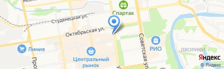 Следственное управление Следственного комитета РФ по Тамбовской области на карте Тамбова