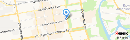 САНД на карте Тамбова