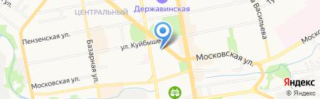 Тамбов ГТРК на карте Тамбова